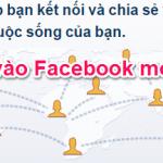 Cách vào facebook khi bị chặn nhanh nhất mới nhất 2017